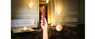 ST Dupont -The Wand- Long Lighter MPL- Red | The Wand
