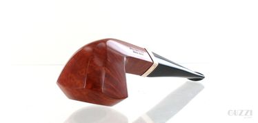 Pipe Caminetto 2.L.10 clear smooth shape straight panel rhodesian vintage '90s | Caminetto Pipes