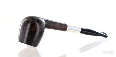 Pipe DON CARLOS NOTTURNO brown smooth shape canted apple pot   Don Carlos Pipes