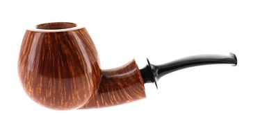 Pipe Vitale *** 3 STELLE flamed smooth shape apple nose warmer   Vitale Pipes