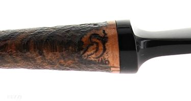 Pipe  BlueBird sandblasted contrast shape freehand plymouth | Bluebird Pipes