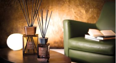 Locherber - Diffuser Rhubarbe Royale Sculpted Stone Limited Edition 250 ml   Stick Diffusers