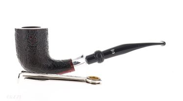 Pipe Stanwell HANS CHRISTIAN ANDERSEN 3 sandblasted shape churchwarden double mouthpiece | Stanwell Pipes