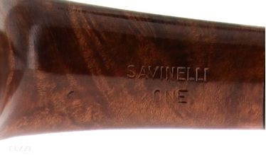 Pipe Savinelli - First Pipe Kit One Smooth Semicurved 404 - Filter 6mm | One