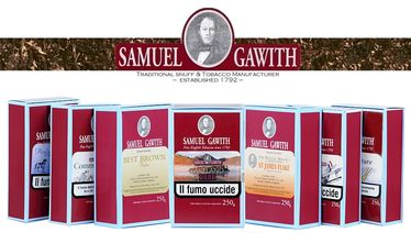 Pipe Tobacco - Samuel Gawith BEST BROWN FLAKE TOBACCO - Pack 250gg.   Samuel Gawith