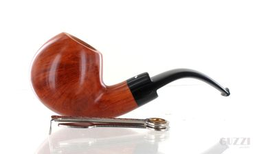 Pipe Caminetto 2.L.06 clear smooth shape full apple bent vintage 90s   Caminetto Pipes