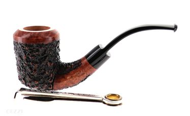 Pipe DON CARLOS rusticated shape freehand calabash | Don Carlos Pipes