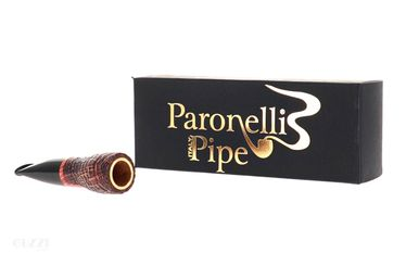Pipe Paronelli Spinnline Calabash Reverse - Sandblasted with black mouthpiece   SpinnLine by Paronelli Pipes