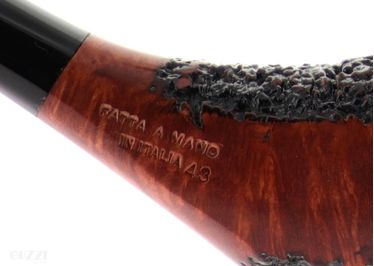 Pipe DON CARLOS partially rusticated shape freehand olpihant   Don Carlos Pipes
