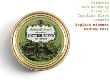 Pipe Tobacco - Robert McConnell SCOTTISH BLEND - Box 50gg   Robert Mc Connell