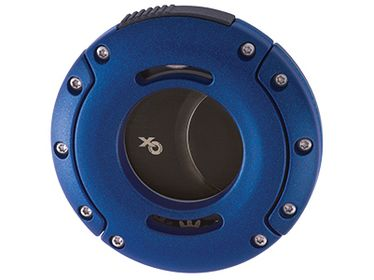 XICAR - Cutter XO Blue with Black Blades   Cigar Cutters and Scissors