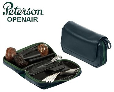 Peterson- Classic 2 Large   Pipe Bag - Petrol Green | Peterson's Official Line