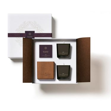 Locherber - Gift Box with 2 Candles 210 gr | Candels