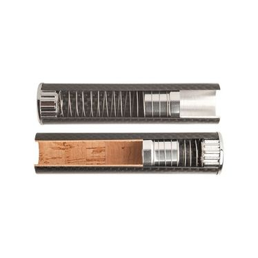 Toscano Snuffer- 3 Pieces made of CARBON 100 mm | Toscano Snuffers