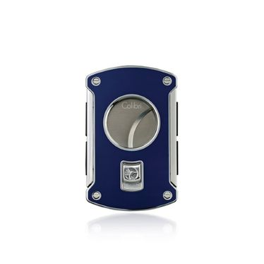 Colibri - Cigar Cutter- SLYCE Blue Lacquer- RING 60   Cigar Cutters and Scissors