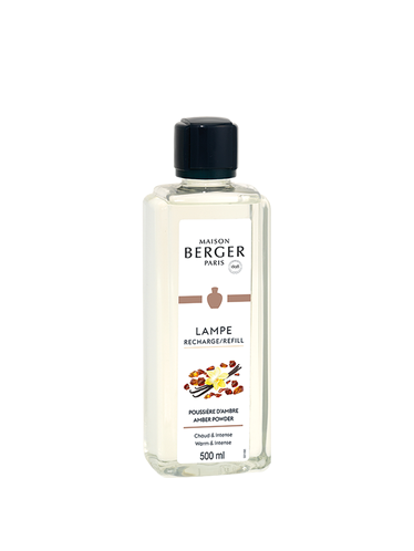 Lampe Berger - Poussiere d'Ambre 500ml | Sweet and Oriental Refills