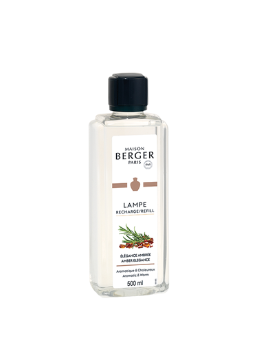 Lampe Berger - Élégance Ambrée 500ml | Sweet and Oriental Refills