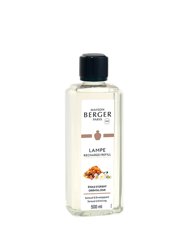 Lampe Berger - Etoile d'Orient 500ML | Sweet and Oriental Refills