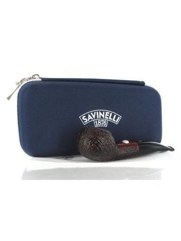 Pipe Savinelli - Shape 321 GOLF Rusticated Black Sport Edition P322Z | Sport Edition