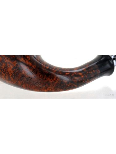 Pipe Mimmo Provenzano COLLECTION smooth golden contrast shape calabash olive cap | Mimmo Provenzano Pipes