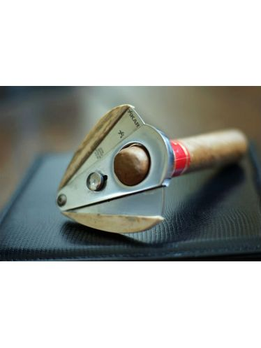 """XICAR - Cutter Xi1 """"Two-Tones"""" - Silver Body & Red Wings (Black Blades) 