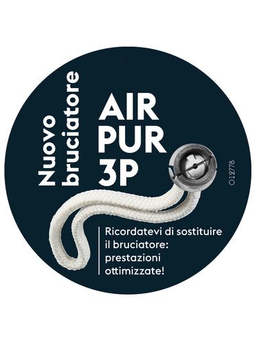 "Lampe Berger - AIR PUR 3C ""CORTO"" 32 cm - Ricambio Stoppino Bruciatore [CLONE] 