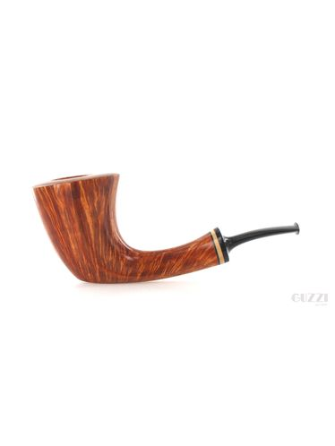 Pipe Vitale ** 2 STELLE brown smooth shape freehand stand up | Vitale Pipes