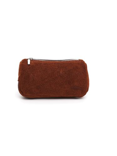 Savinelli - Leather Pouch 2 Pipe and Tobacco - Brown Tiger | Pipe Pouches and Tobacco Cases