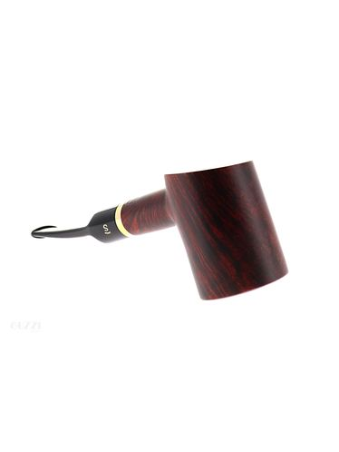 Pipe Stanwell DE LUXE BROWN POLISH 207 matte brown smooth shape cherrywood poker 9mm | Stanwell Pipes
