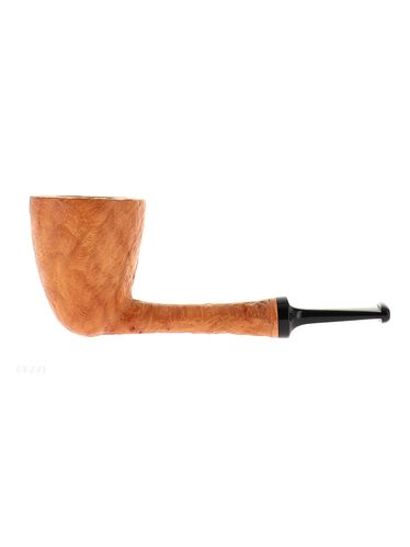 Pipe BlueBird clear natural sandblasted shape straight dublin | Bluebird Pipes