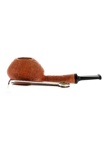 Pipe BlueBird natural clear sandblasted shape stand up oval tomato   Bluebird Pipes