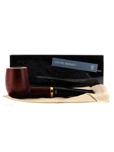 Pipe Stanwell DE LUXE BROWN POLISH 88 matte smooth shape billiard 9mm   Stanwell Pipes