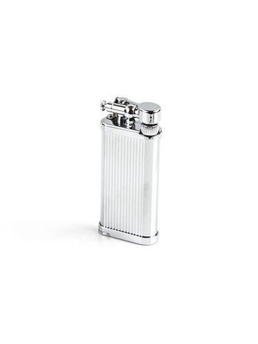 Corona Japan - OLD BOY Stripes Chrome Pipe Lighter | Corona Japan