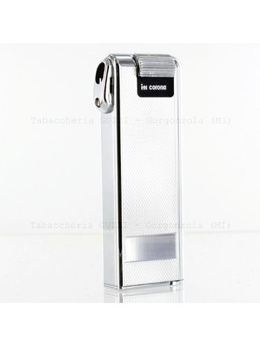 Corona Japan - PIPE Rice Grain Chrome Pipe Lighter with Tamper | Corona Japan
