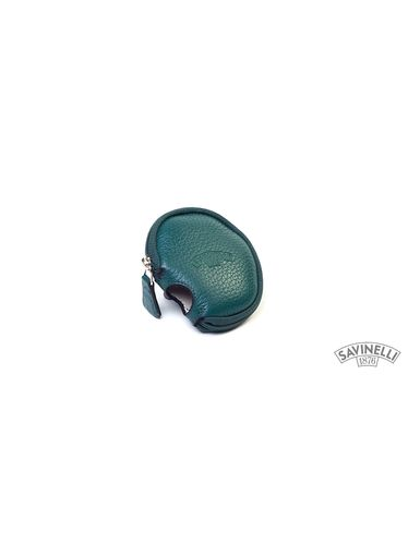 Savinelli - Leather Pouch for Pipe Chamber Green | Pipe Pouches and Tobacco Cases