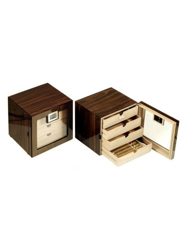 Lubinski - Display Humidor  - 5 drawers- Polish Walnut Wood | Display Humidors