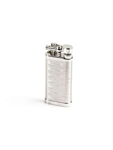 Corona Japan - OLD BOY Antique Pipes Chrome Pipe Lighter | Corona Japan