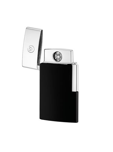ST Dupont E-Slim - Electric MicroUSB Lighter - Black Lacquer [EXIBITHION SAMPLE] | Outlet