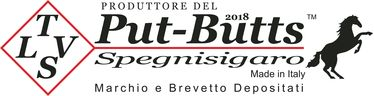 PUT-BUTTS Spegni Toscano Singolo 100mm ROSSO | PUT-BUTTS Spegni Toscano