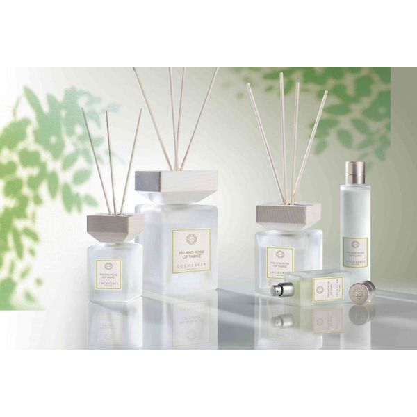 Locherber - Diffuser Fig and Rose of Tabriz 100 ml | Stick Diffusers