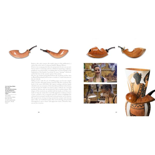 """Diego Morlin """"Pipes and Best Italian Brands""""   Pipes"""